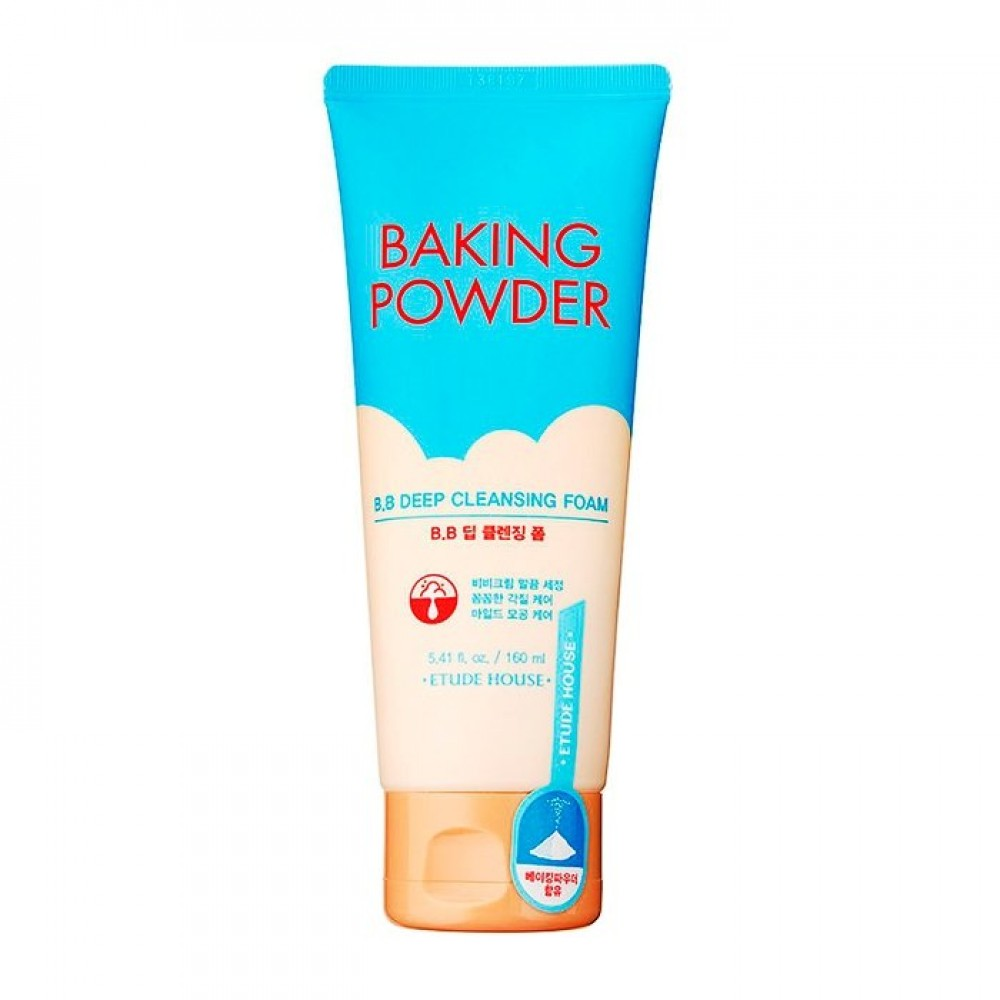 Etude House Baking Powder B.B Deep Cleansing Foam Очищающая пенка для снятия ББ-крема с содой