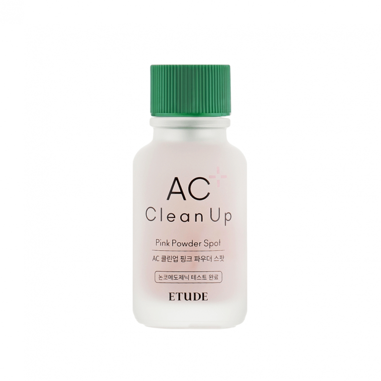 ETUDE AC Clean Up Pink Powder Spot Точечное средство для борьбы с акне