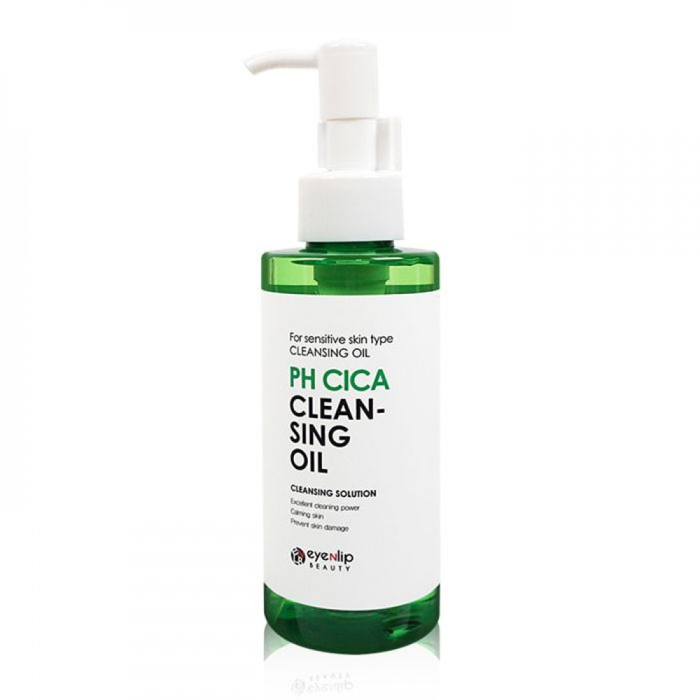 EYENLIP PH Cica Cleansing Oil Гидрофильное масло с центеллой для чувствительной кожи