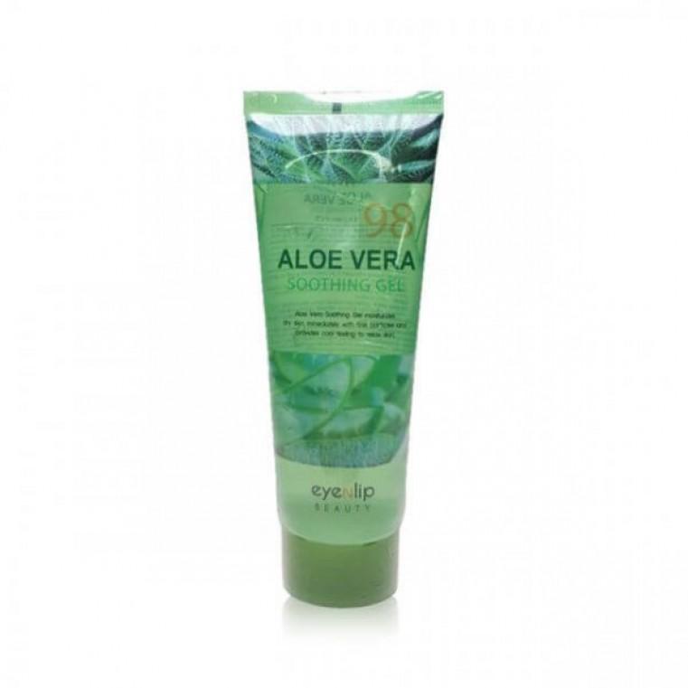 EyeNlip Aloe Vera Soothing Gel 98% Универсальный гель алоэ для лица и тела