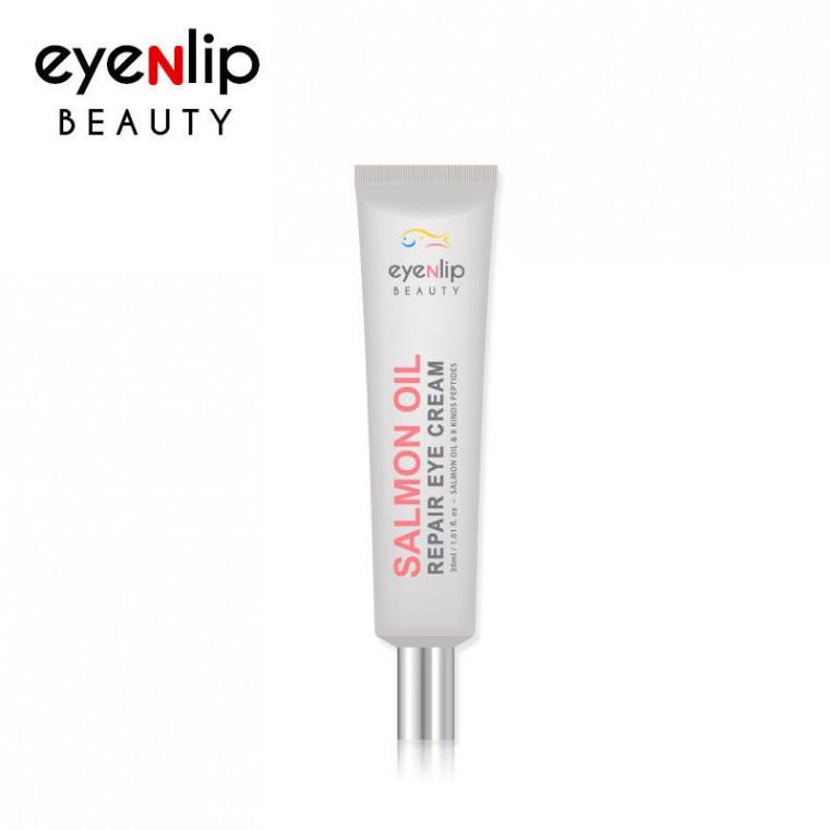 EyeNlip Salmon Oil Repair Eye Cream Регенерирующий крем для век с маслом лосося
