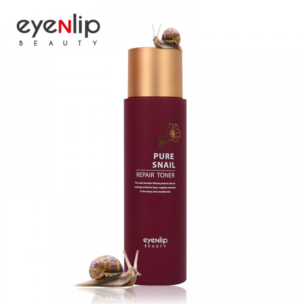 eyeNlip Pure Snail Repair Toner Тонер Улиточный восстанавливающий