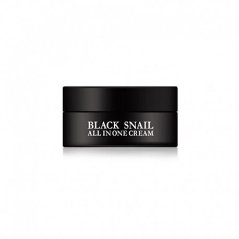 EyeNlip Black Snail All In One Cream Крем многофункциональный с муцином черной улитки, 15мл