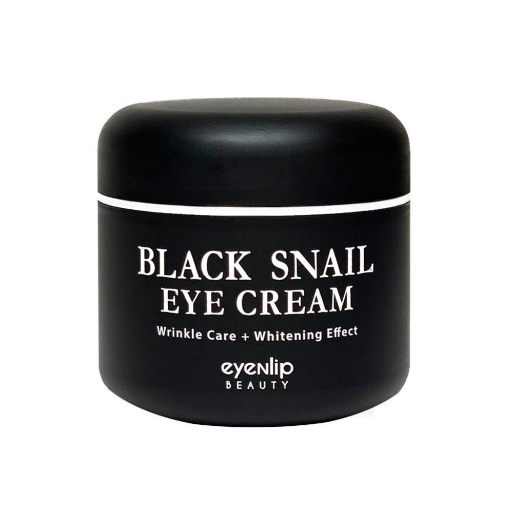 EyeNlip Black Snail Eye Cream Крем для кожи вокруг глаз с муцином черной улитки