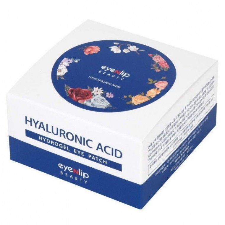 EYENLIP Hyaluronic Acid Hydrogel Eye Patch Гидрогелевые патчи с гиалуроновой кислотой для кожи вокруг глаз