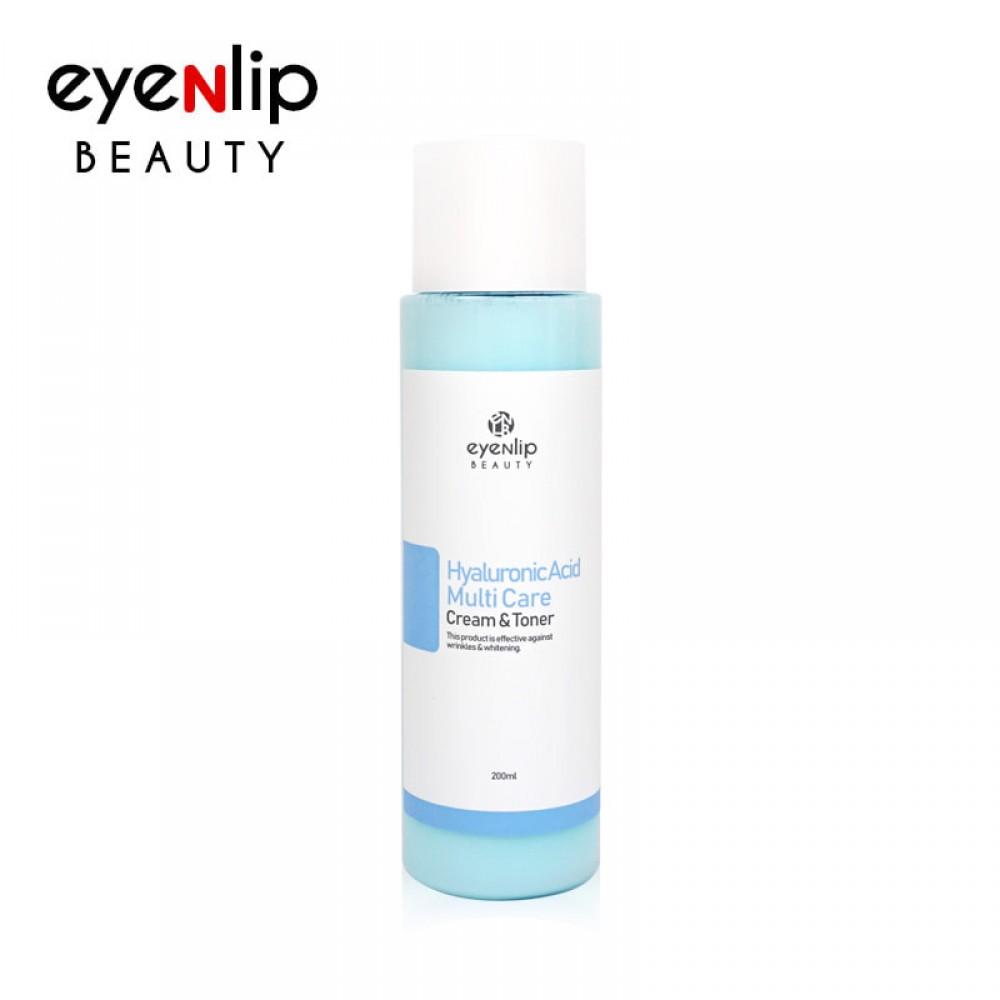 EYENLIP Hyaluronic Acid Multi Care Cream & Toner Многофункциональный крем-тоник с гиалуроновой кислотой