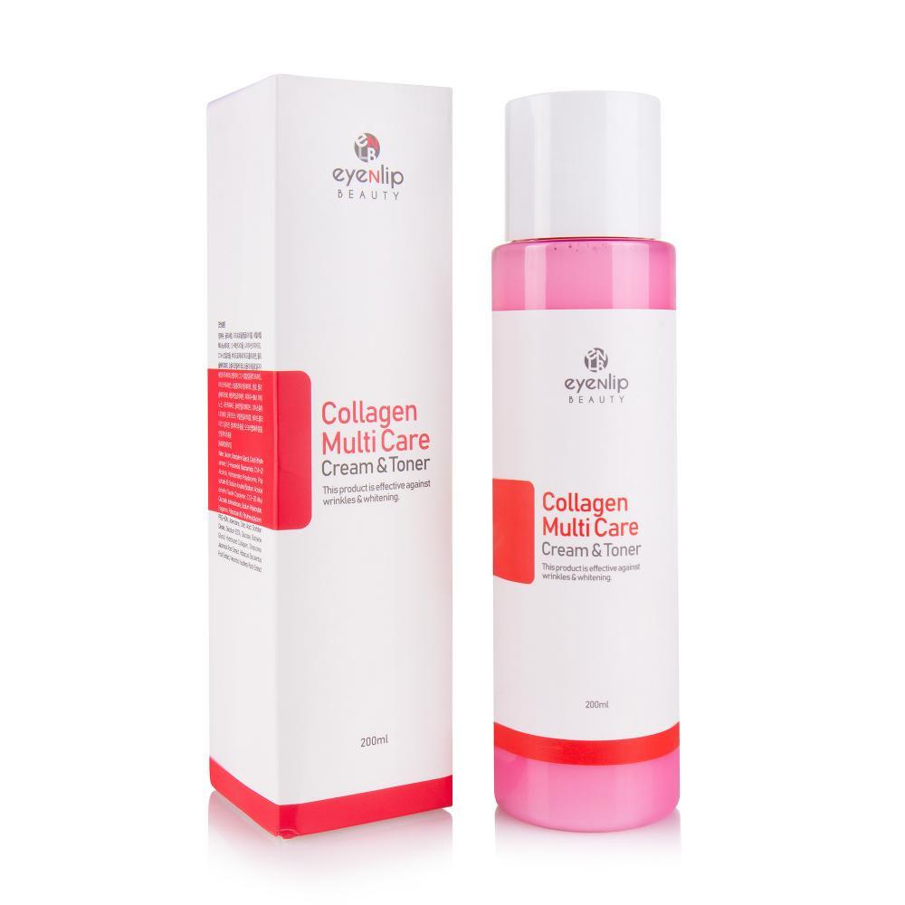 EYENLIP Collagen Multi Care Cream & Toner Многофункциональный крем-тоник с коллагеном