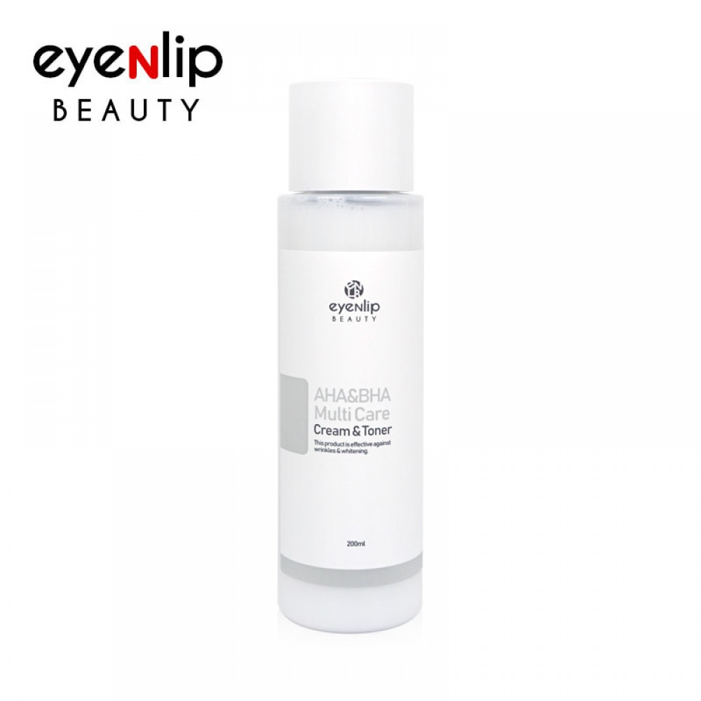 EYENLIP AHA & BHA Multi Care Cream & Toner Многофункциональный крем-тоник с AHA и BHA кислотами