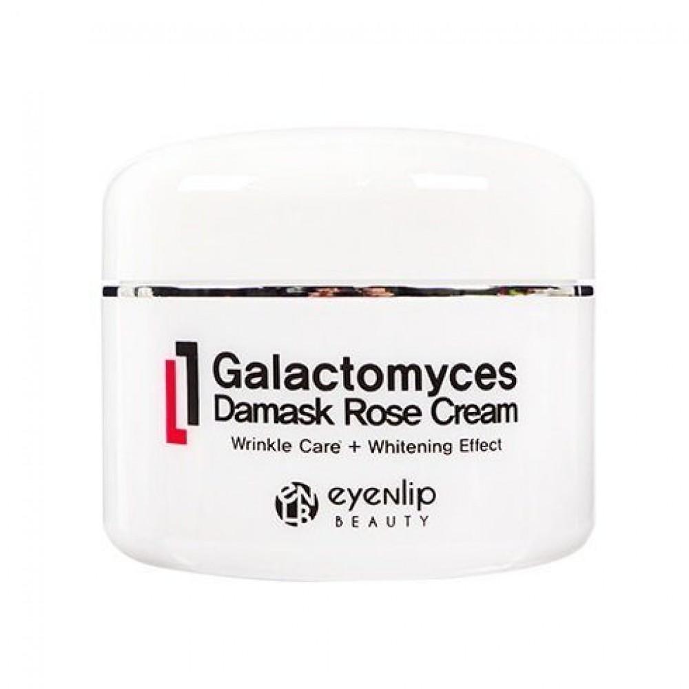 EYENLIP Galactomyces Damask Rose Cream Антивозрастной крем с галактомисис и дамасской розой