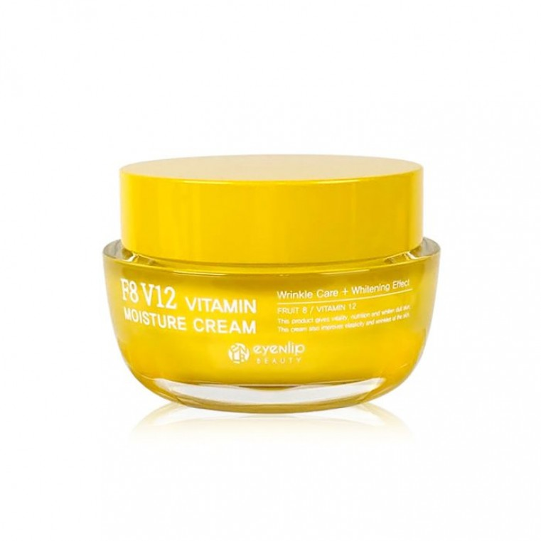 EYENLIP F8 V12 Vitamin Moisture Cream Витаминный увлажняющий крем