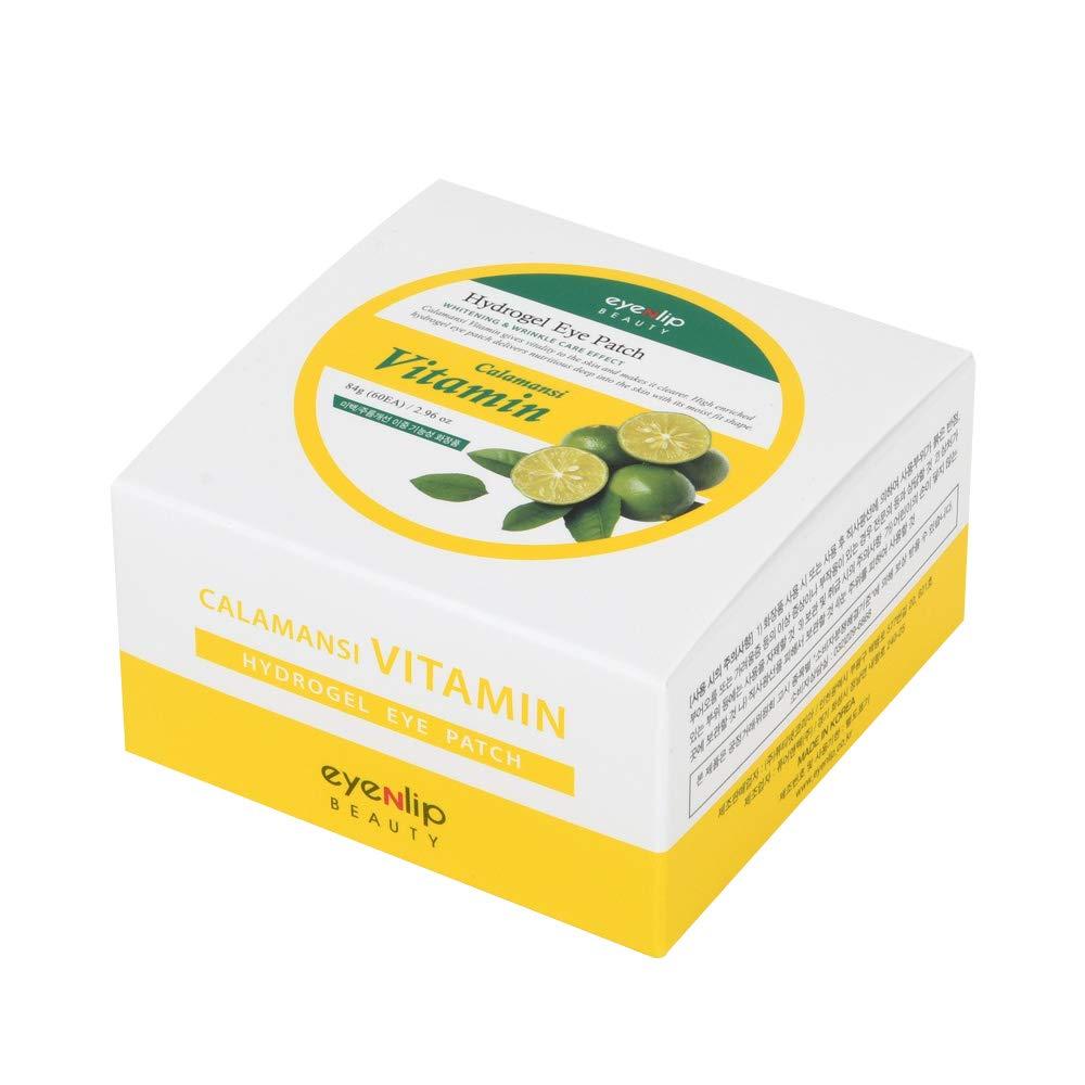 EyeNlip Calamansi Vitamin Hydrogel Eye Patch Патчи гидрогелевые витаминные с экстрактом каламанси