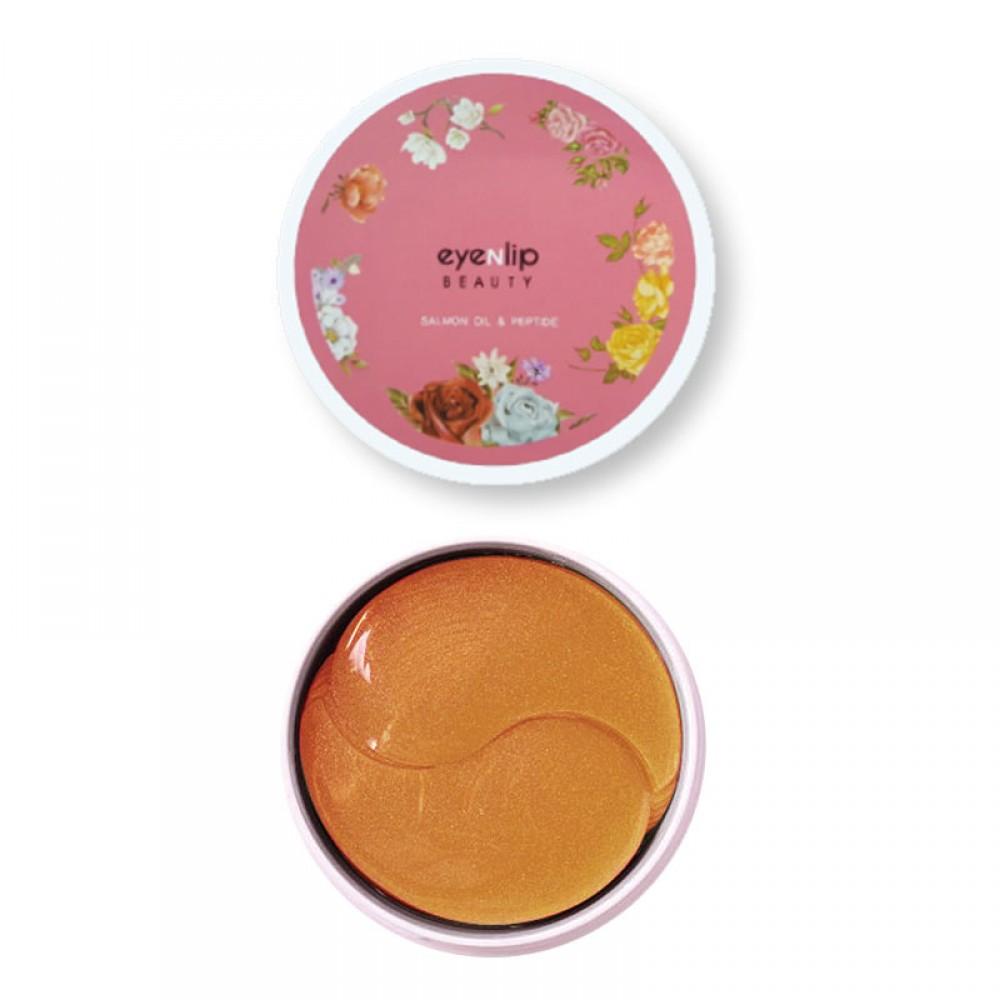 EyeNlip Salmon Oil & Peptide Hydrogel Eye Patch Патчи гидрогелевые с лососевым маслом и пептидами