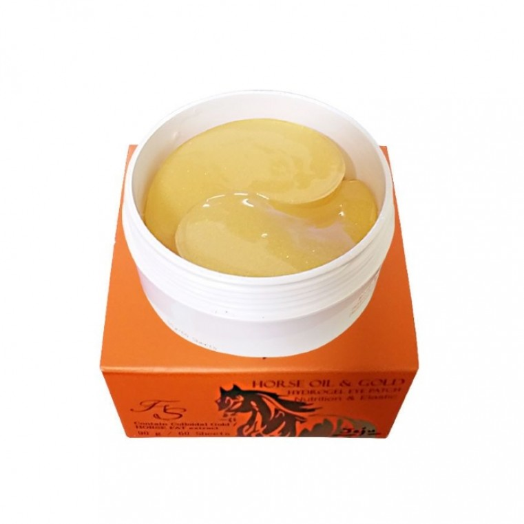 Farm Stay Horse Oil & Gold Hydrogel Eye Patch Патчи гидрогелевые с конским маслом и золотом