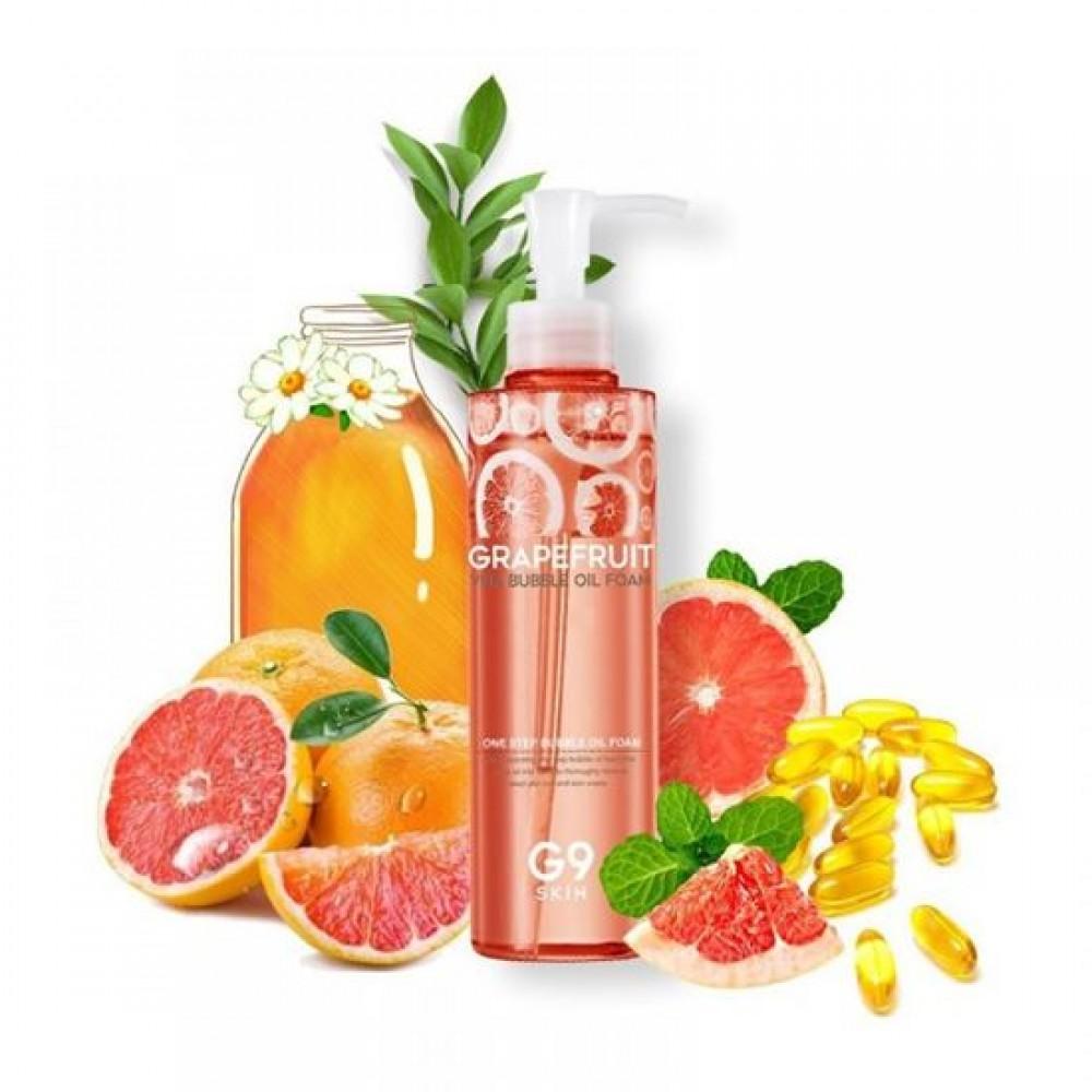 G9 Skin Grapefruit Vita Bubble Oil Foam Пенка для умывания с экстрактом грейпфрута