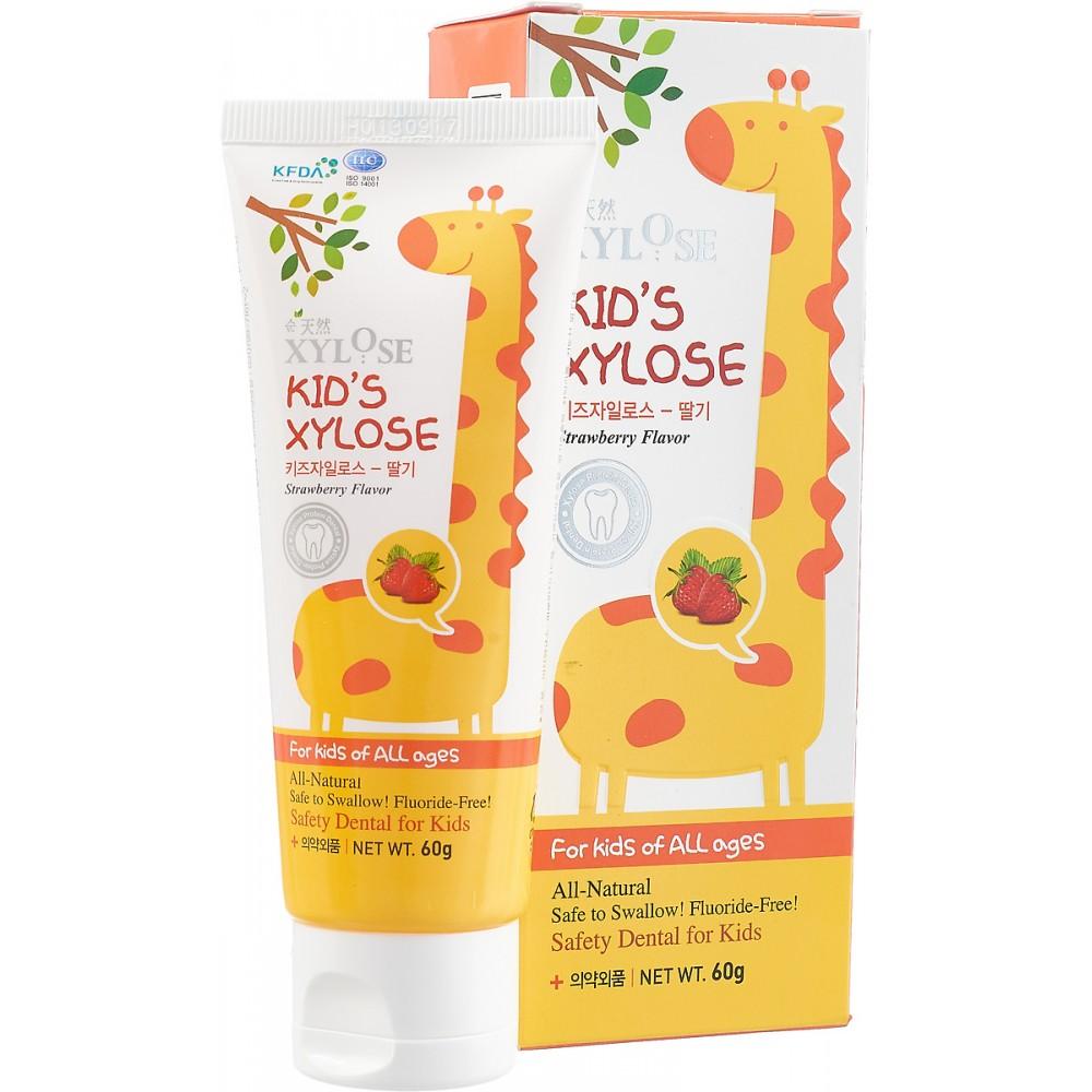 Hanil Chemical Xylose Kid's Зубная паста с экстрактом клубники для детей