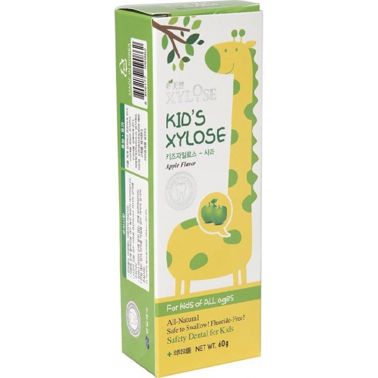 Xylose KID'S Xylose Apple Зубная паста с экстрактом яблока для детей