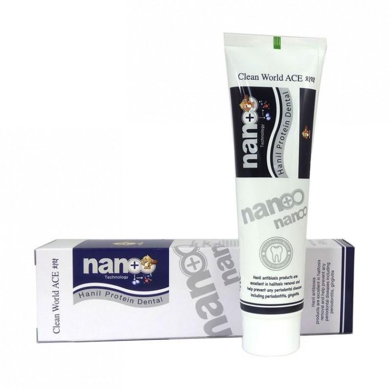 NANO Hanil Protein Dentale Зубная паста с серебром и протеином