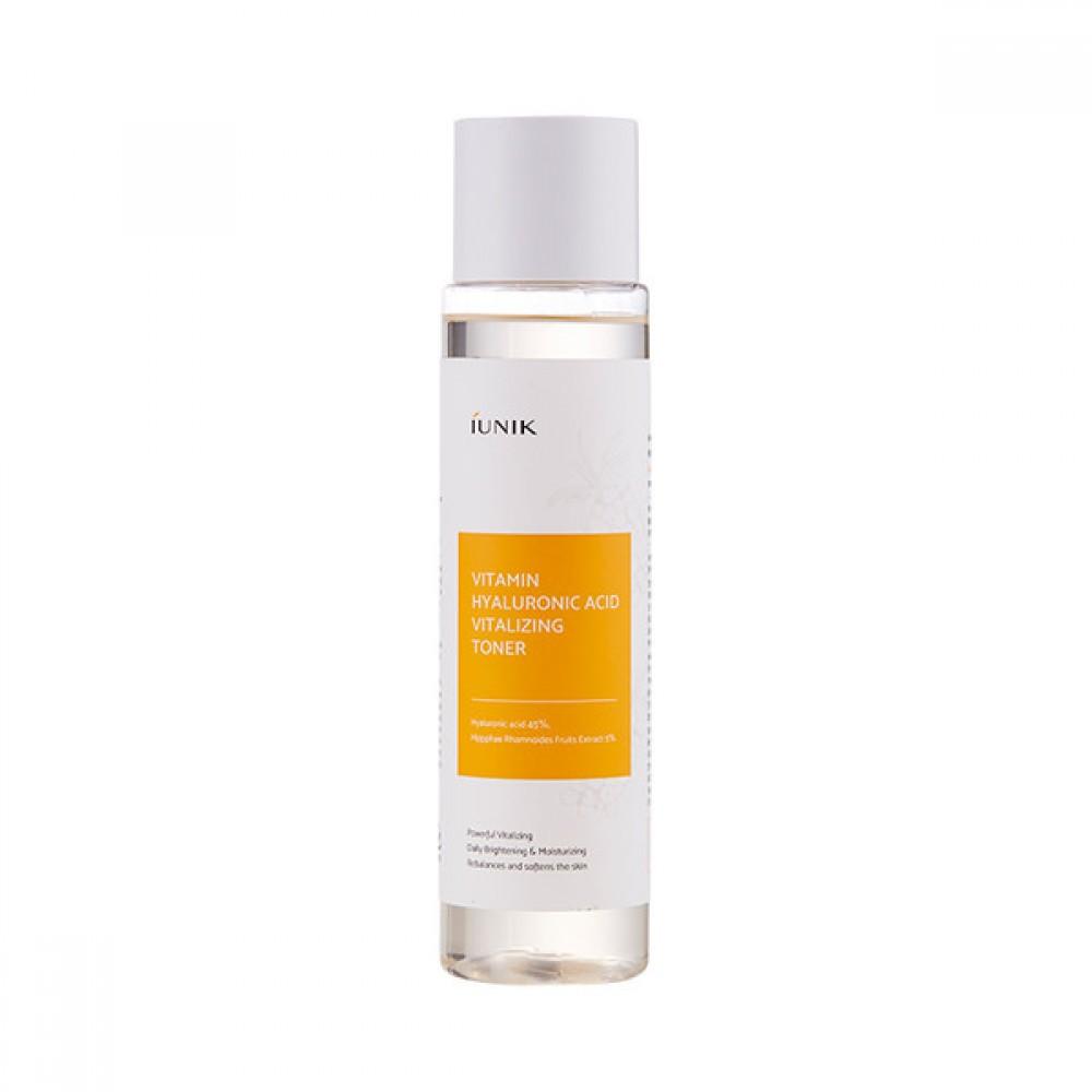 iUnik Vitamin Hyaluronic Acid Vitalizing Toner Витаминный тонер с гиалуроновой кислотой 45%