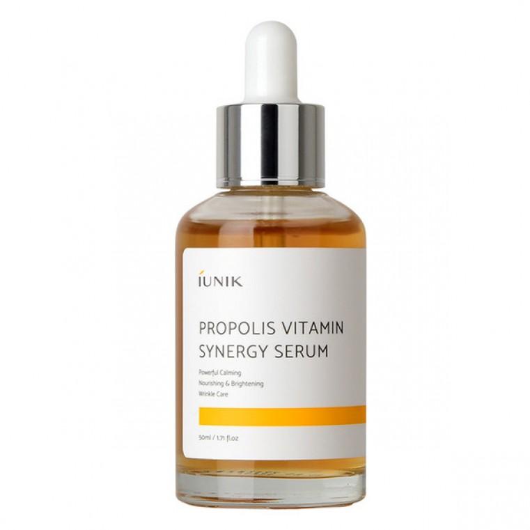 iUnik Propolis Vitamin Synergy Serum Витаминная сыворотка с прополисом 70%, 50мл
