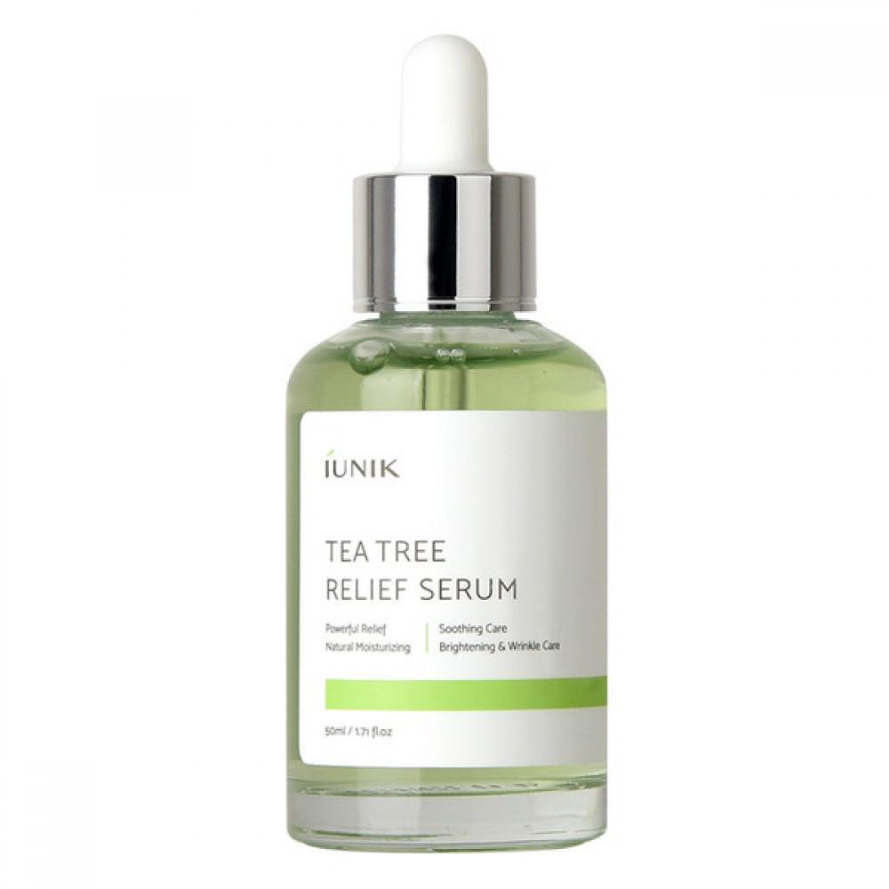 iUnik Tea Tree Relief Serum Сыворотка с экстрактом чайного дерева 67%, 50 мл