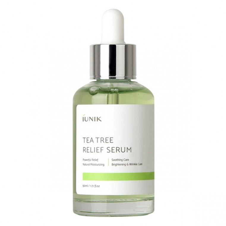 Tea Tree Relief Serum Сыворотка с экстрактом чайного дерева 67%