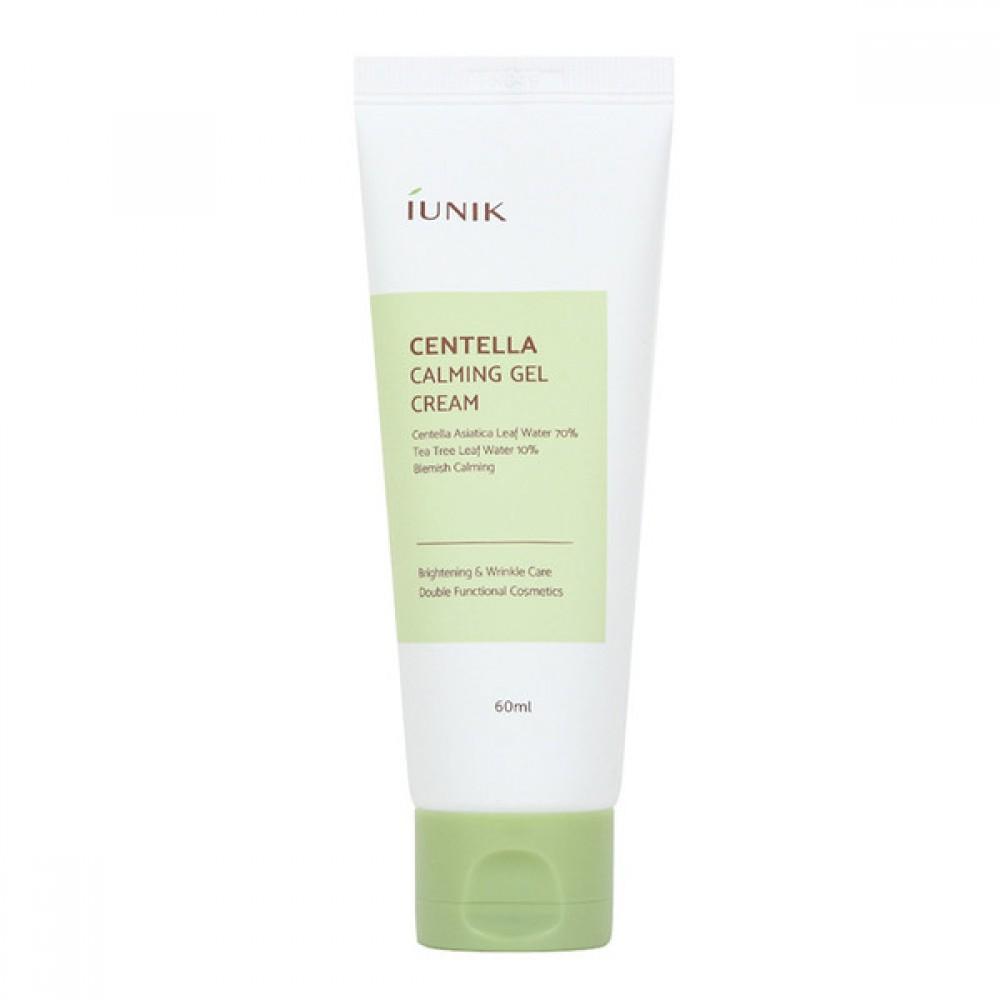 iUnik Centella Calming Gel Cream Успокаивающий гель-крем для лица с центеллой 70%