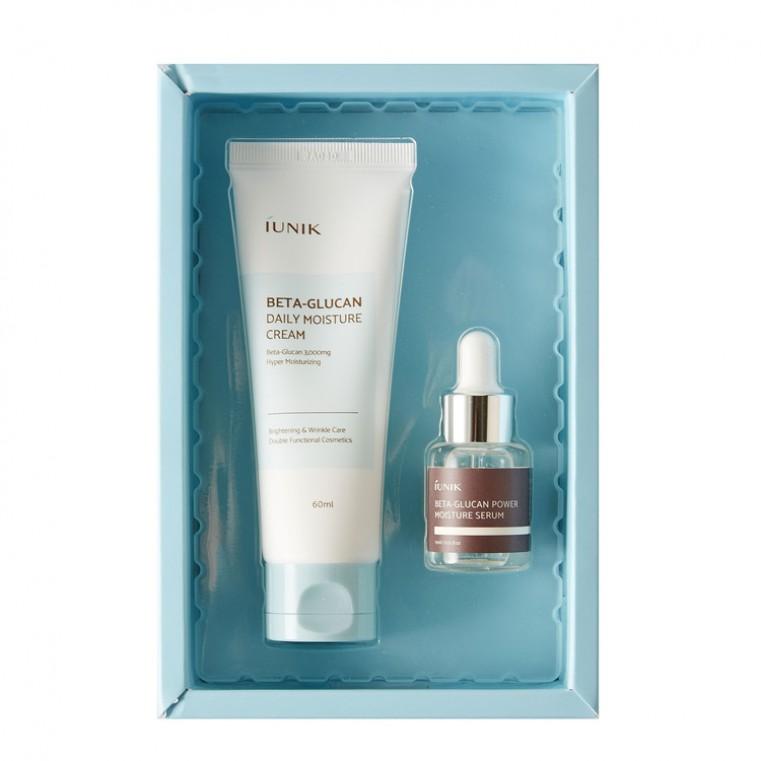 iUnik Beta Glucan Edition Skincare Set Набор для увлажнения кожи с бета-глюканом