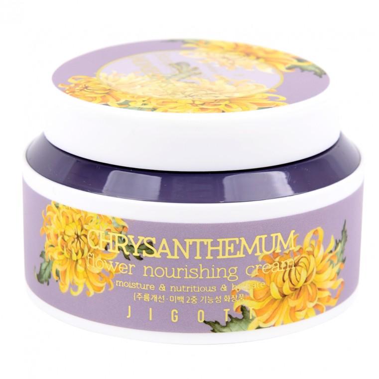 JIGOTT Chrysanthemum Flower Nourishing Cream Питательный крем с экстрактом хризантемы