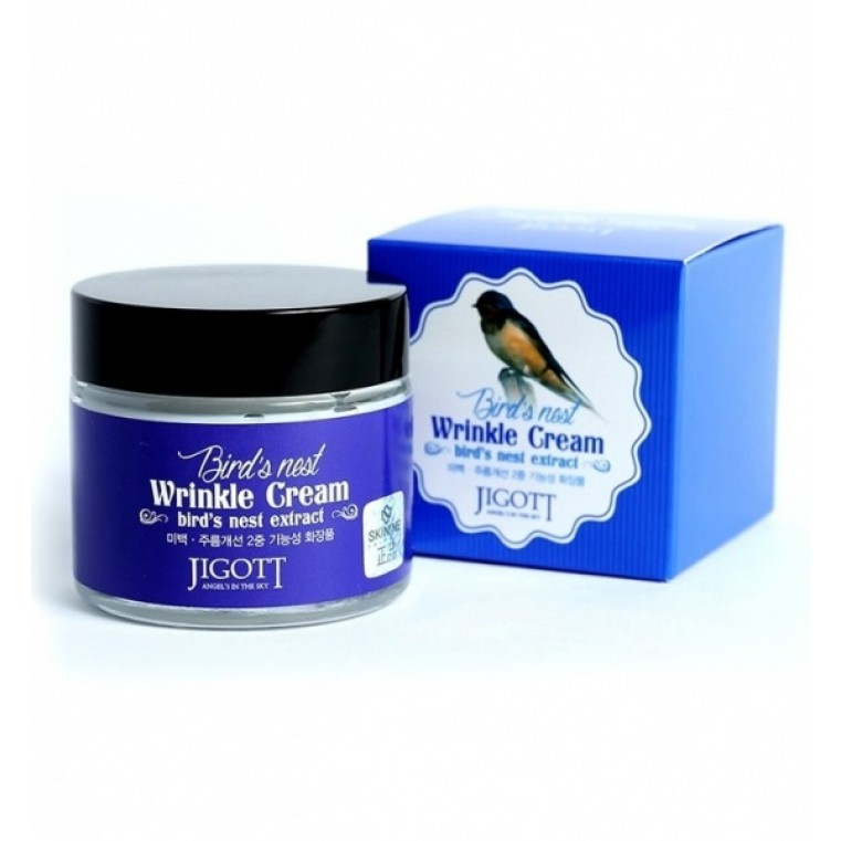 Jigott Bird's Nest Wrinkle Cream Крем против морщин на основе экстракта ласточкиного гнезда