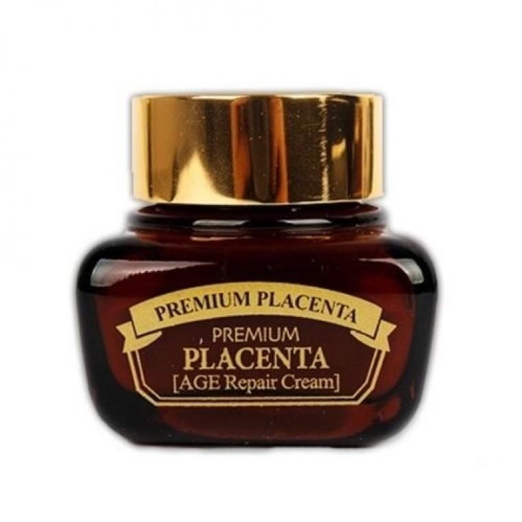 3W Clinic Premium Placenta Age Repair Cream Крем с плацентой для лица антивозрастной