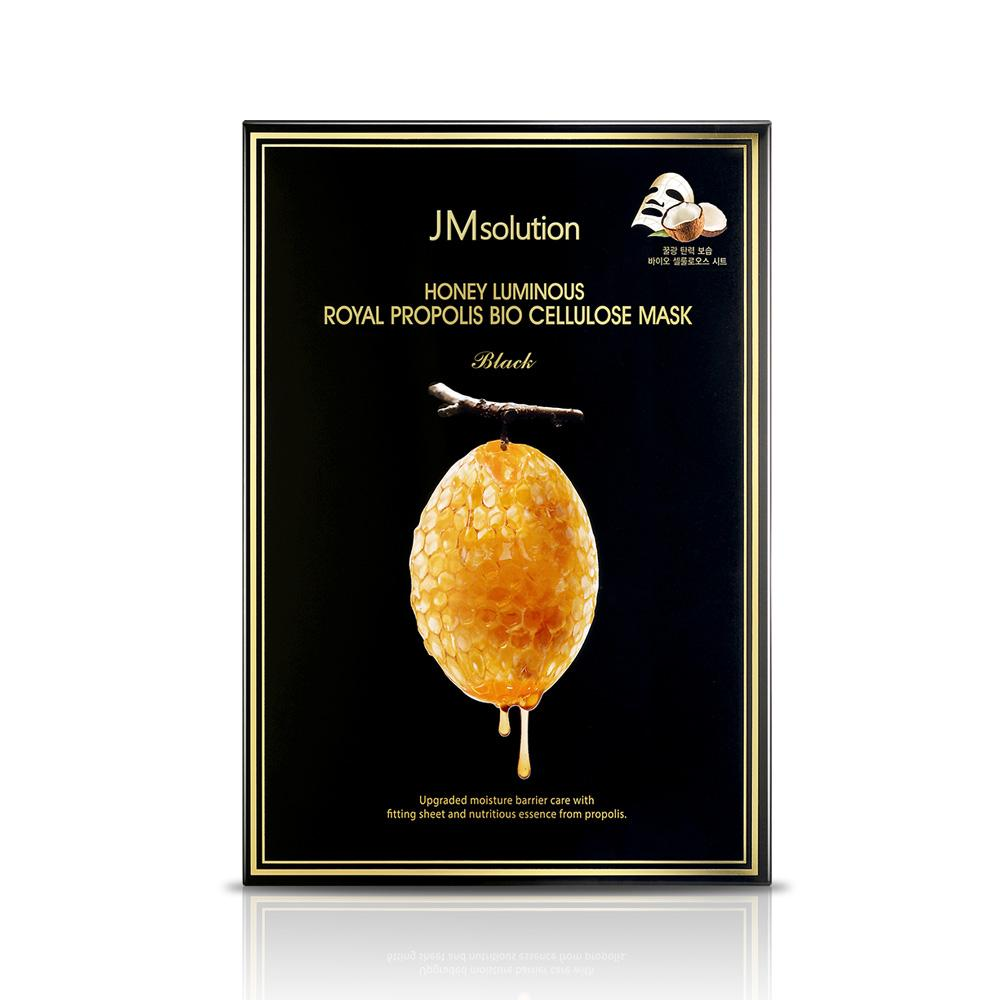 JM Solution Honey Luminous Royal Propolis Mask Маска тканевая восстанавливающие с прополисом