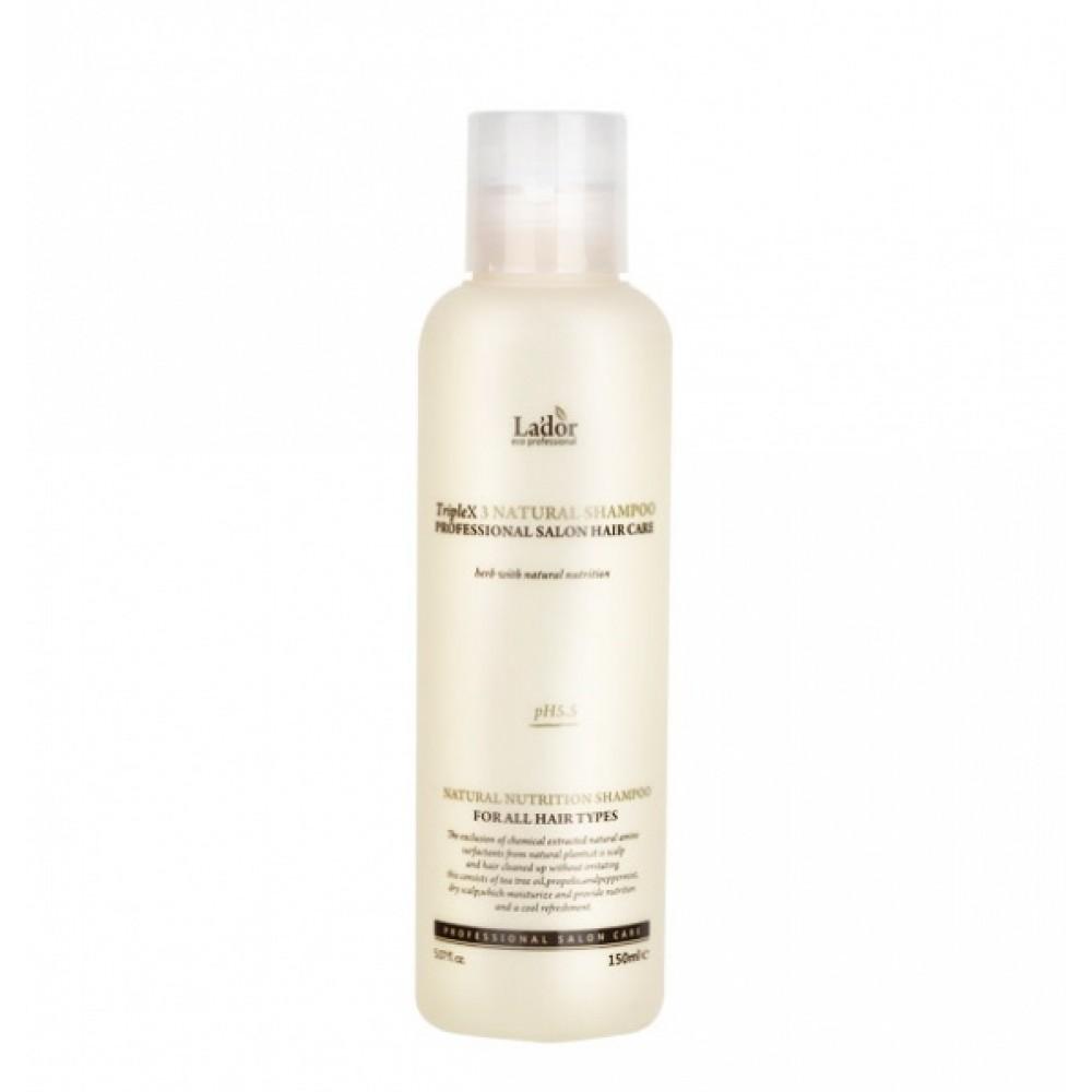 Triplex Natural Shampoo Шампунь с экстрактами и эфирными маслами