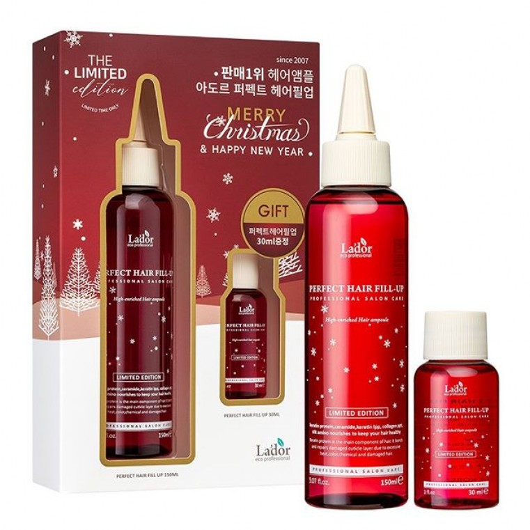 La'Dor The Limited Edition Merry Christmas Perfect Hair Fill-Up Филлер для восстановления волос 150 мл + 30 мл