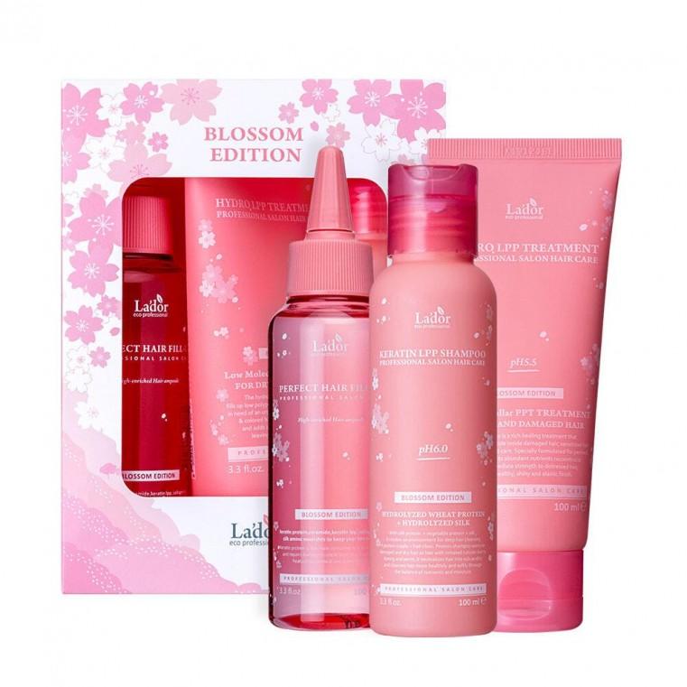 LADOR Blossom Edition Set Весенний лимитированный набор средств для волос