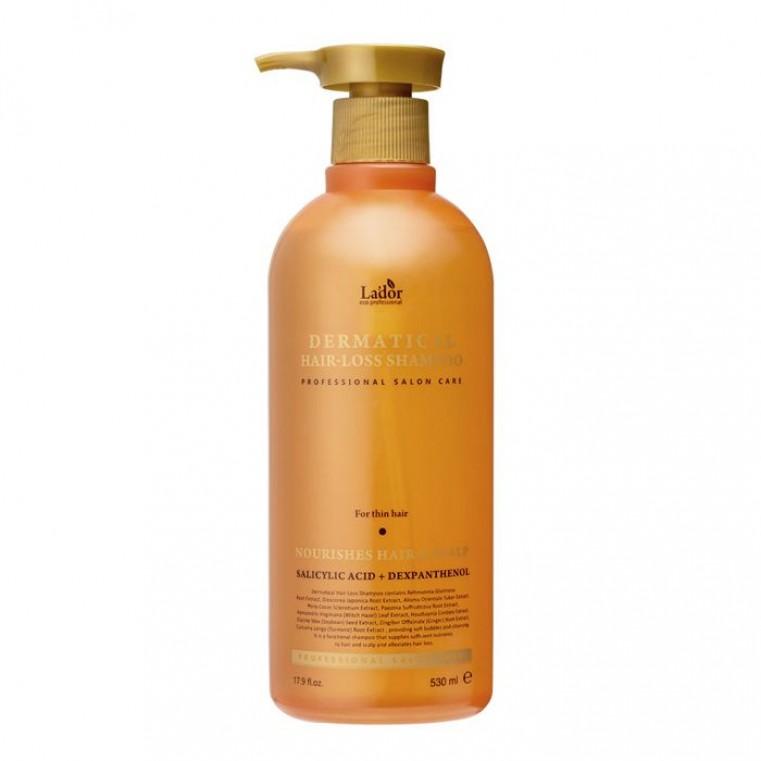 Lador Dermatical Hair-Loss Shampoo For Thin Hair Укрепляющий шампунь для тонких волос