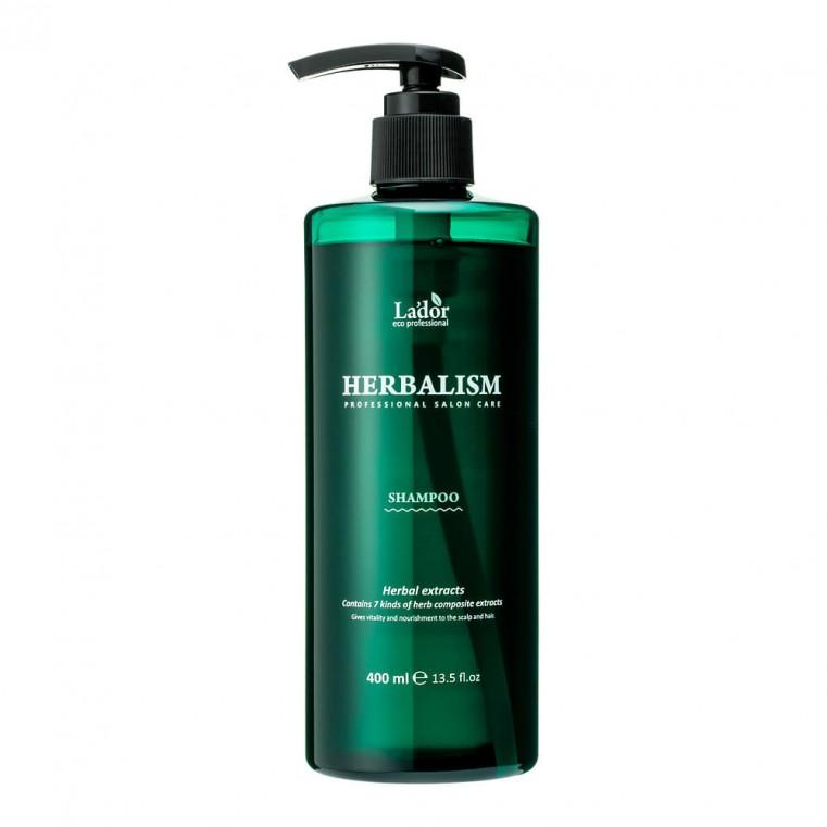 La'dor Herbalism Shampoo Слабокислотный травяной шампунь с аминокислотами, 400мл