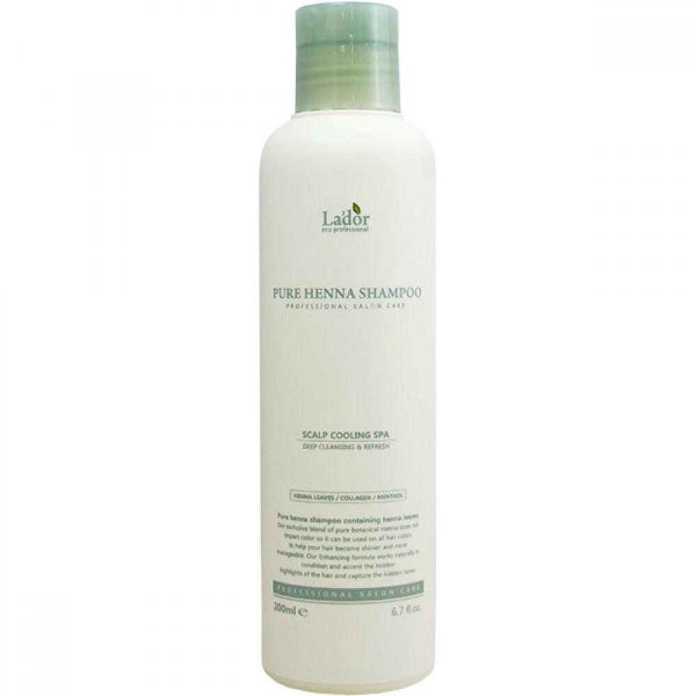 Pure Henna Shampoo Шампунь для волос с хной укрепляющий