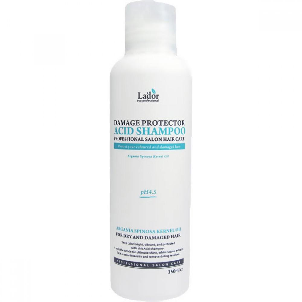 Damaged Protector Acid Shampoo Шампунь для волос с коллагеном и аргановым маслом