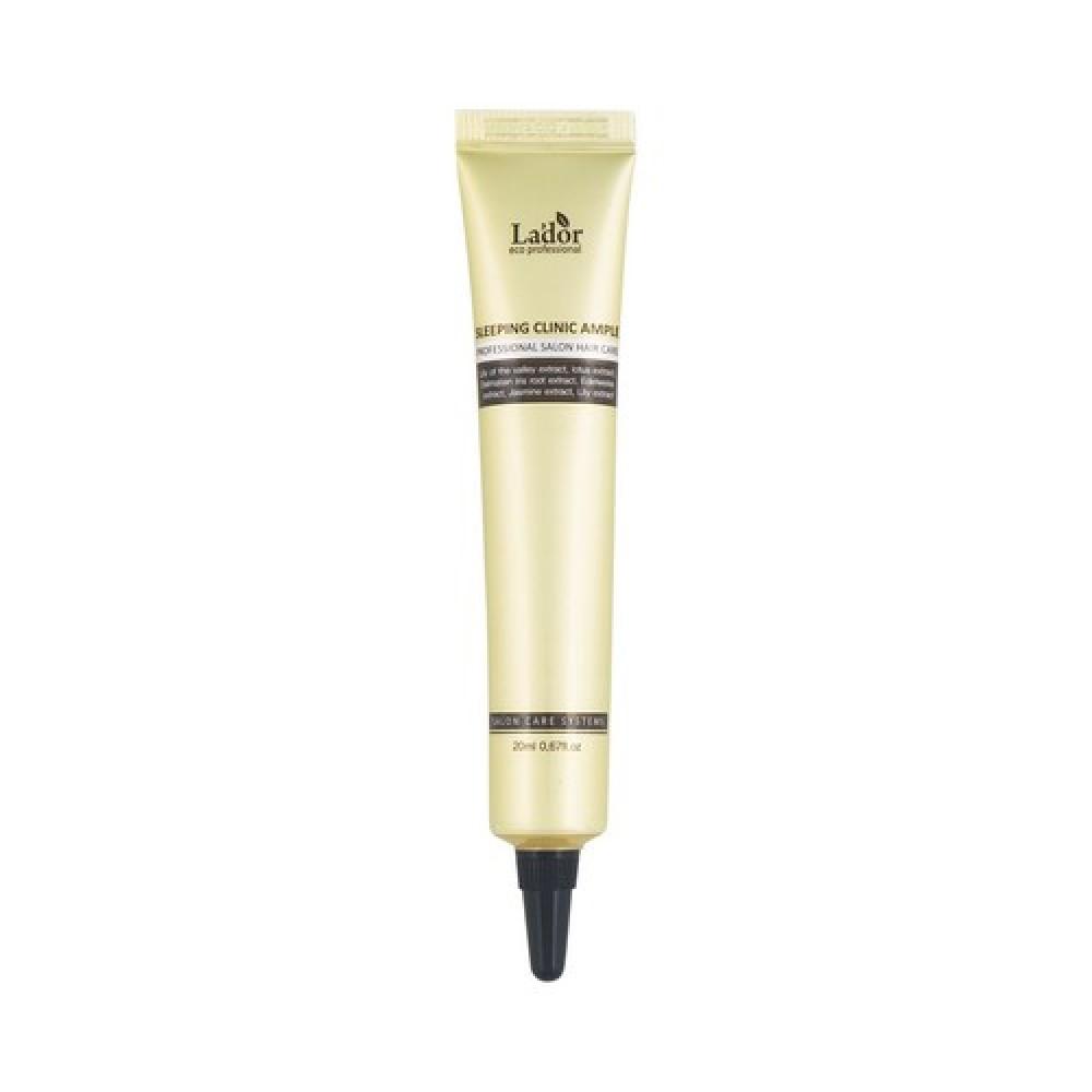 La'Dor Keratin Power Fill Up Sleeping Clinic Ampoule Сыворотка для волос ночная восстанавливающая