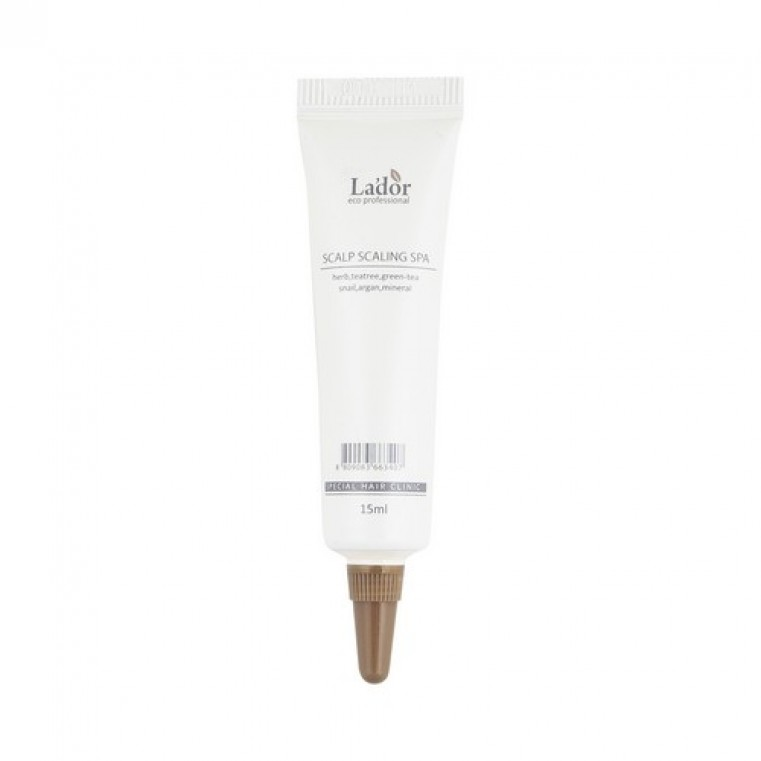 La'Dor Scalp Scaling Spa Hair Ampoule Пилинг для кожи головы, 1шт
