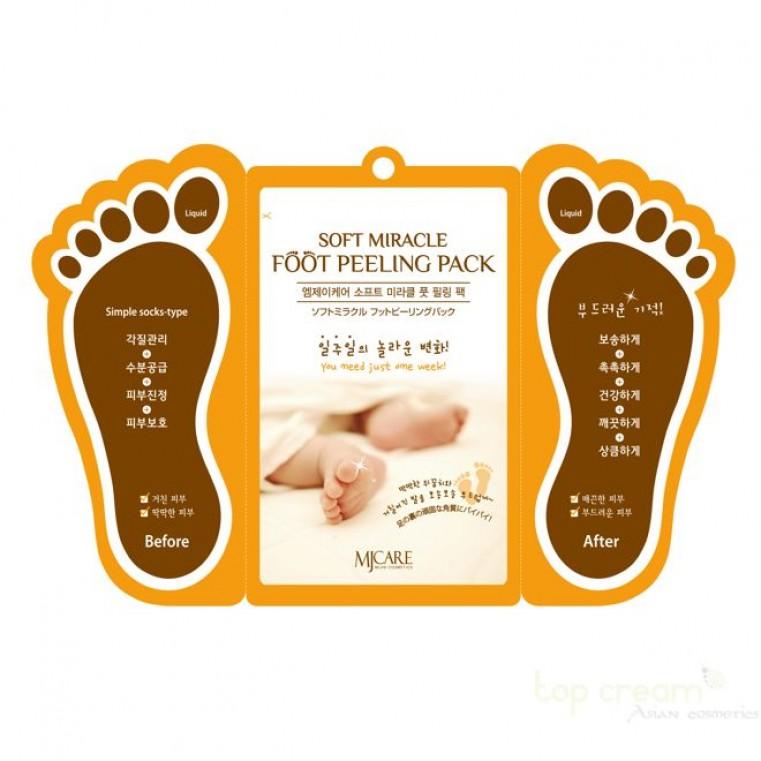 Soft Miracle Foot Peeling Pack Пилинг для ног
