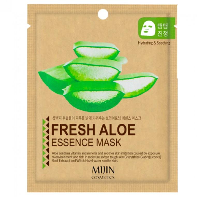 Mijin Fresh Aloe Essence Mask Тканевая маска с экстрактом алоэ