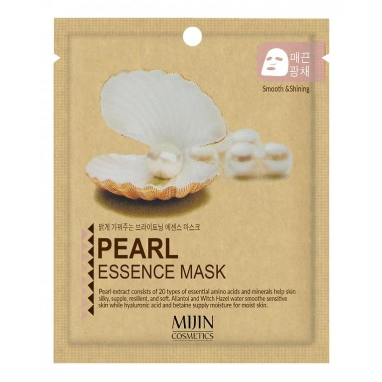 Mijin Pearl Essence Mask Тканевая маска с экстрактом жемчуга
