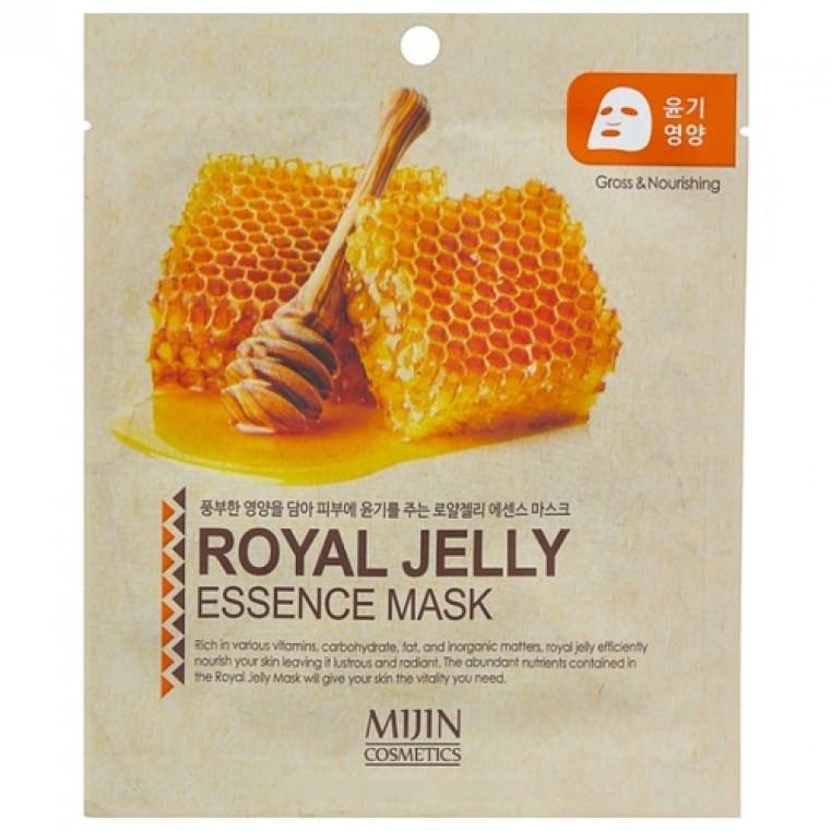 Mijin Cosmetics Royal Jelly Essence Mask Листовая маска с королевским желе