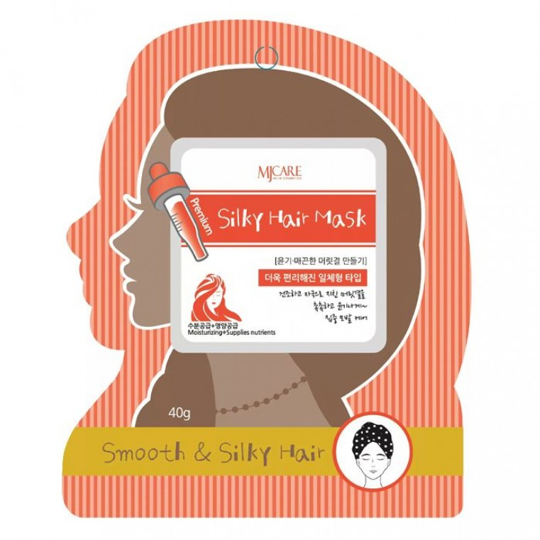 MJ CARE Premium Silky Hair Mask Маска-шапочка для волос