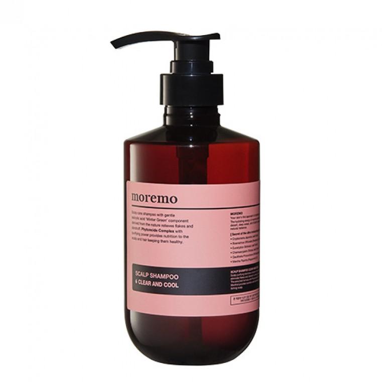 Shampoo Clear And Cool Шампунь для глубокого очищения кожи головы охлаждающий
