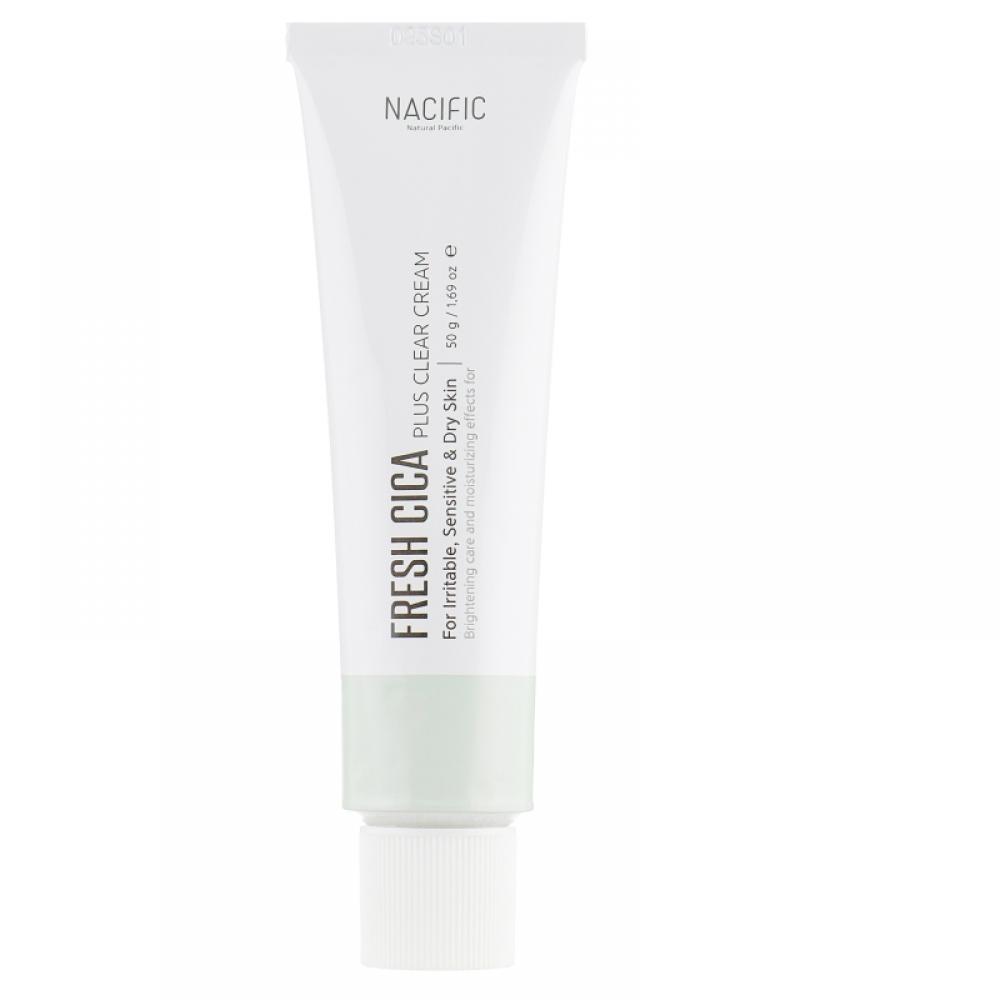 Nacific Fresh Cica Plus Clear Cream Крем на основе центеллы
