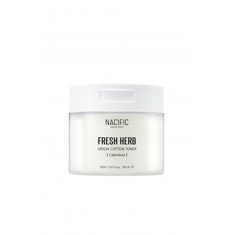 Nacific Fresh Herb Origin Cotton Toner Увлажняющий тонер в пэдах