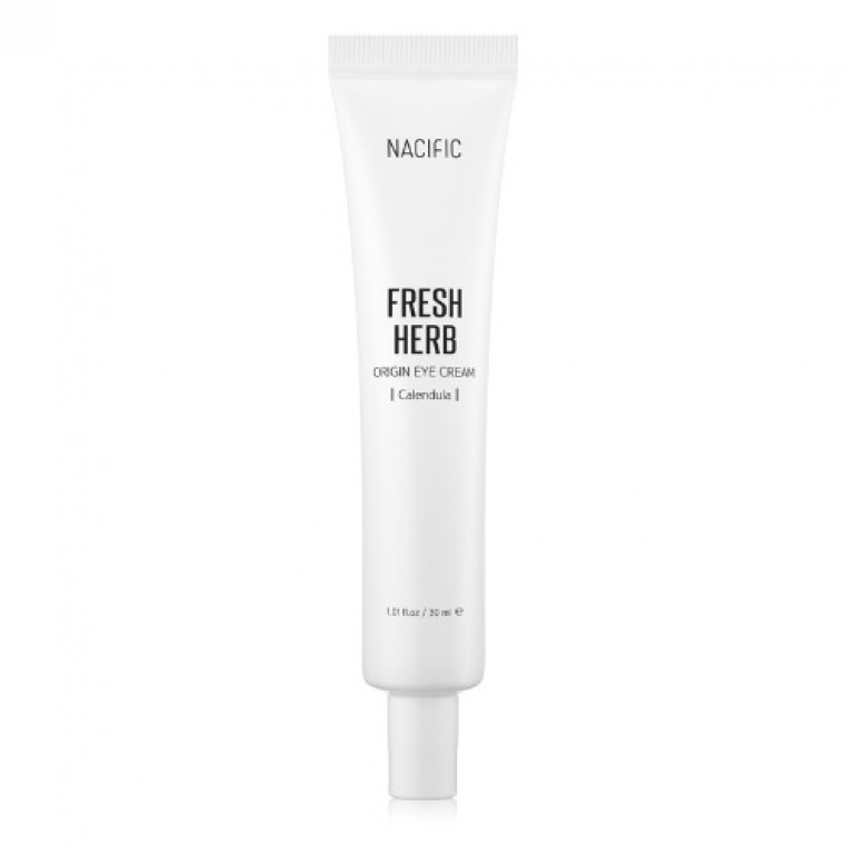 Nacific Fresh Herb Origin Eye Cream Осветляющий крем для век против тёмных кругов под глазами