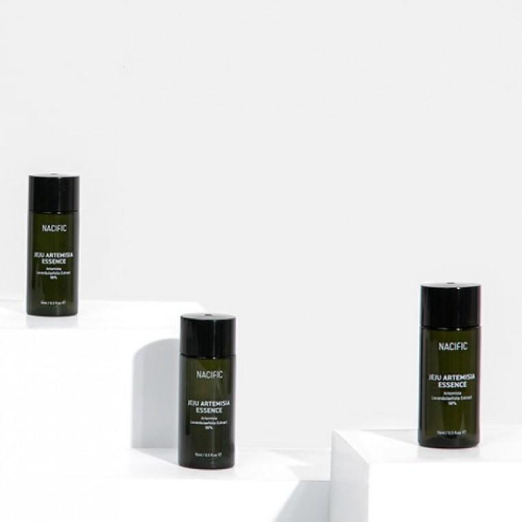Nacific Jeju Artemisia Essence Балансирующая успокаивающая и увлажняющая эссенция, 15мл